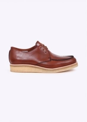 Clarks Originals Burcott Field Leather - Cognac