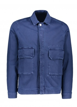 NN07 Burke Jacket - Blue