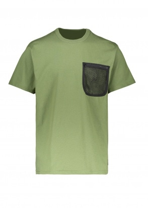Carhartt WIP SS Military Mesh Pocket Tee - Dollar Green