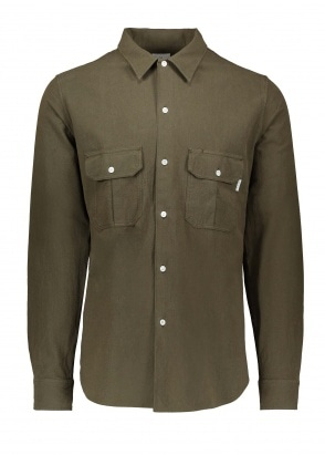 Paul Smith Casual Fit LS Shirt - Khaki