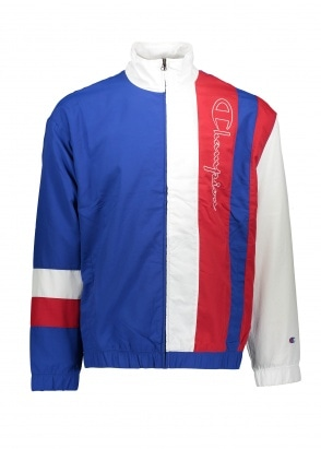 Champion Tri Colour Block Track Top - Malibu / White