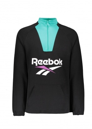 Reebok CL V 1/4 Zip - Black