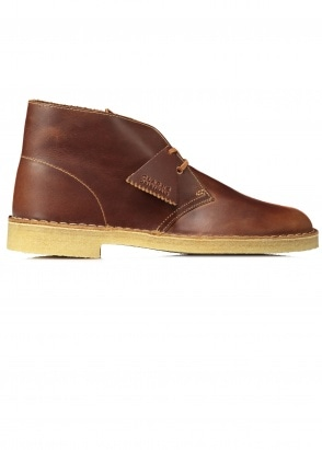 Clarks Originals Desert Boot Leather - Tan
