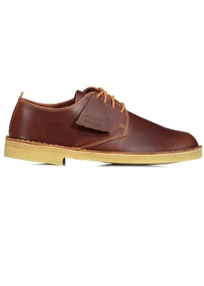 Clarks Originals Desert London Leather - Tan