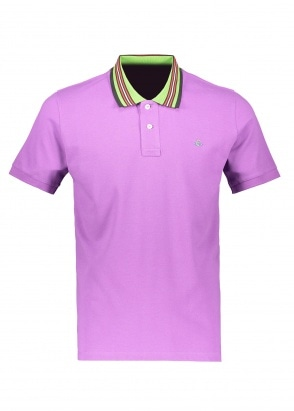 Vivienne Westwood Classic Polo Stripe Collar - Purple