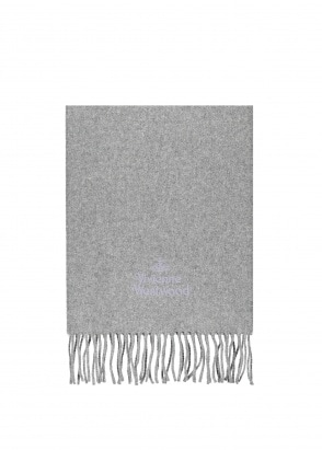 Vivienne Westwood Accessories Classic Scarf - Grey