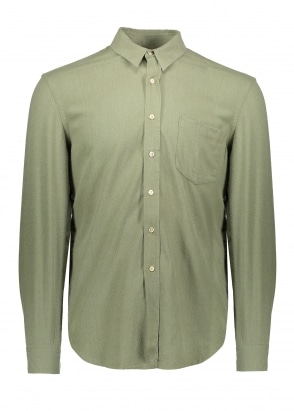 Our Legacy Classic Shirt Light - Olive Silk