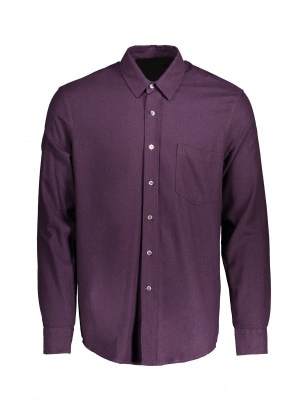 Our Legacy Classic Shirt - Plum Silk Noil