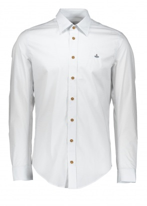 Vivienne Westwood Mens Classic Stretch Shirt - White