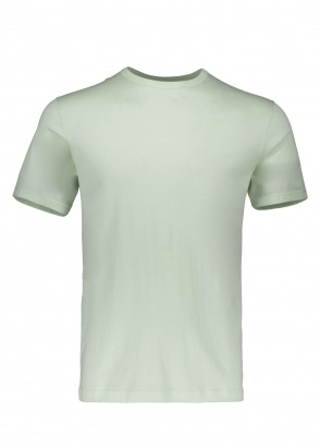 Sunspel Classic T-Shirt - Aqua Leaf