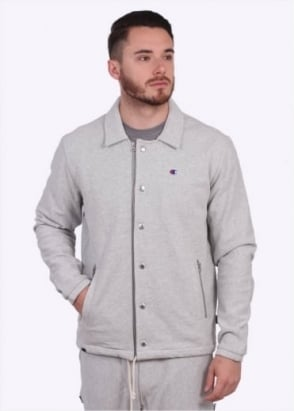 Champion Coach Jacket - Light Grey