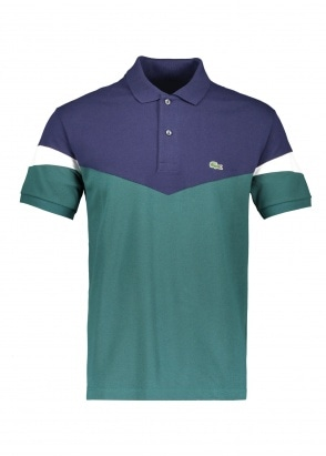 Lacoste Colorblock Polo - Aconit / Navy