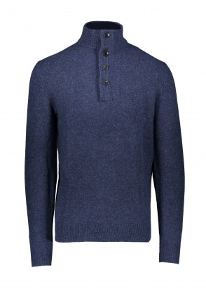 Barbour Colton Half Zip - Indigo