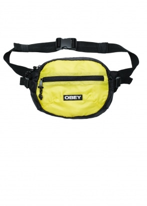 Obey Commuter Waist Bag -Black Multi