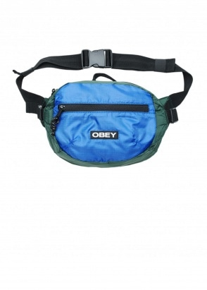 Obey Commuter Waist Bag - Blue