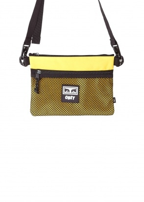 Obey Conditions Side Bag - Energy Yellow