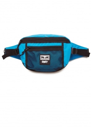 Obey Conditions Waist Bag - Pure Teal