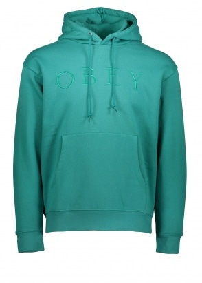 Obey Construct Hood - Dusty Teal
