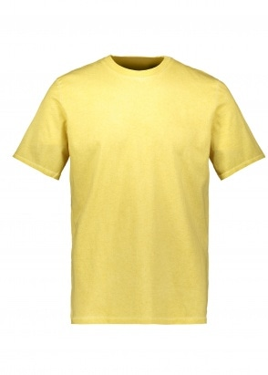 Folk Contrast Sleeve Tee Cold Dye - Light Gold