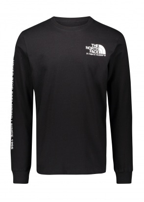 The North Face Coordinates LS Tee - Black