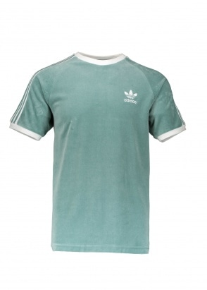 adidas Originals Apparel Cozy Tee - Green / White