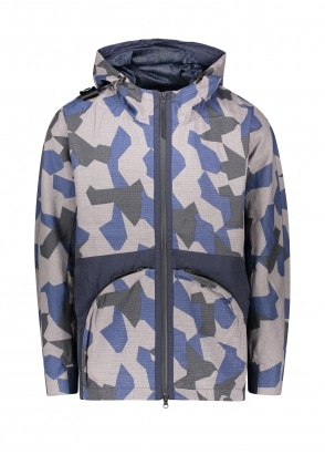 MA.STRUM CR Hooded Parka - Black Base Camo