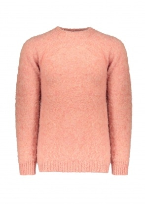 Shetland Woollen Co.  Crew Neck Pullover - Sunglow