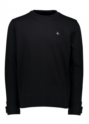 Vivienne Westwood Mens Crew Sweat - Black