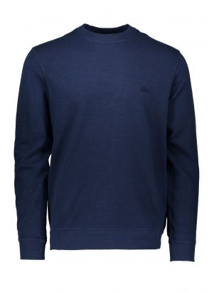Lacoste Crew Sweater - Navy Blue