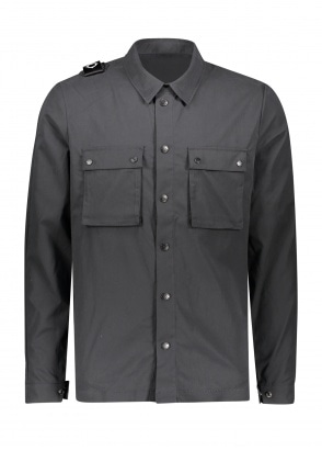 MA.STRUM DH (B) Overshirt - Jet Black