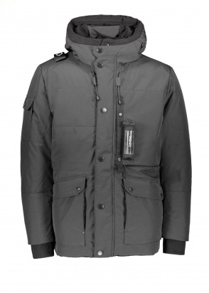 MA.STRUM Down Torch Parka - Jet Black
