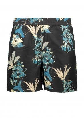 Carhartt WIP Drift Swim Trunks - Hawaaiian Black