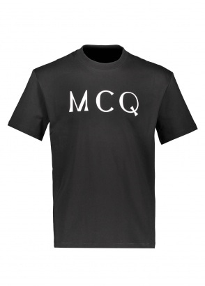 McQ Swallow Dropped Shoulder SS - Darkest Black