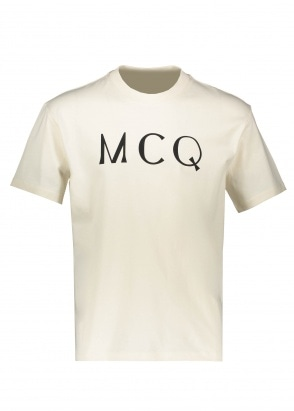 McQ Swallow Dropped Shoulder SS - Oyster
