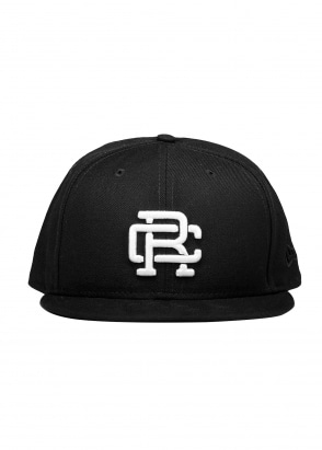 Reigning Champ Embroidered Cap - Black / White