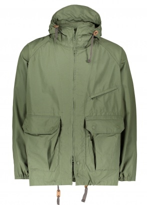 Engineered Garments Atlantic Parka - Olive