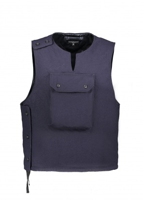 Engineered Garments Cover Vest Uniform - Dark Navy