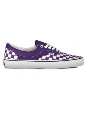 Vans Era Checkerboard - Violet / White