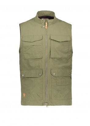 Fjallraven Travellers MT Vest - Laurel Green