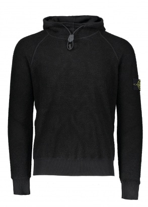 Stone Island Fleece Pullover - Black