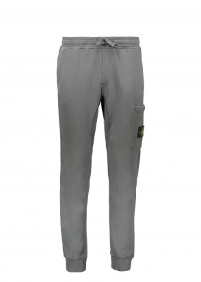 Stone Island Fleece Sweatpants - Dark Grey