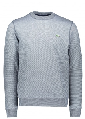 Lacoste Fleece Sweatshirt - Navy Blue / Flour