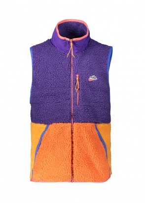 Nike Apparel Fleece Vest 547 - Purple / Kumquat