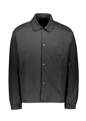 Drôle de Monsieur Flower Slogan Jacket - Black