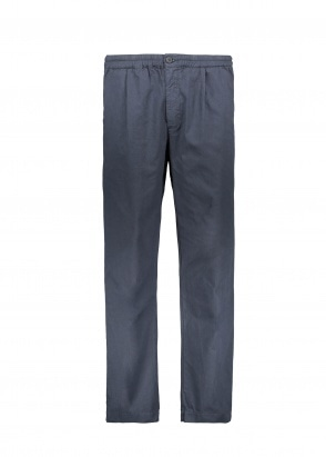 Folk Loom Pants - Navy