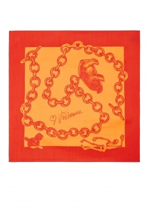 Vivienne Westwood Accessories Foulard 60 x 60 - Orange