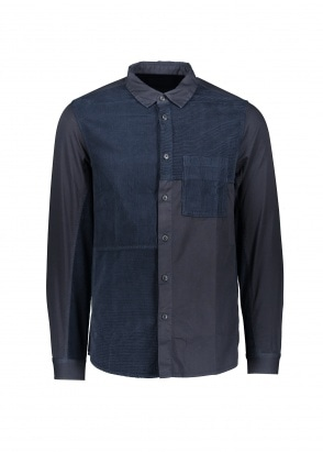 Folk Fraction Shirt - Navy