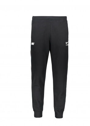 Nike Apparel French Terry Joggers - Black / White