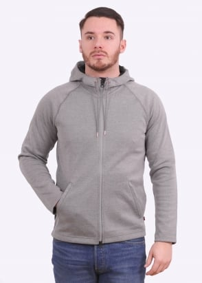 Levi's Red Tab Full Zip Hoodie - Molleton Heather