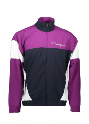 Champion Full Zip Top - Navy / Purple